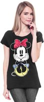 Disney Juniors T-Shirt Mickey Mouse Front Back Print