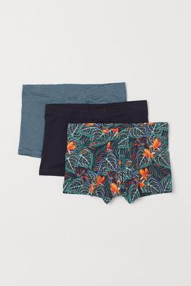 H&M 3-pack Short Boxer Shorts - Orange