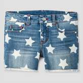 Cat & Jack Girls' Fashion Shorts Cat & Jack - Denim Blue