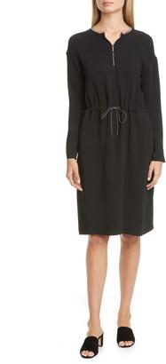 Fabiana Filippi Cinched Waist Long Sleeve Dress