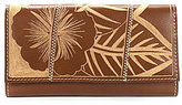Patricia Nash Cuban Carved Collection Terresa Wallet