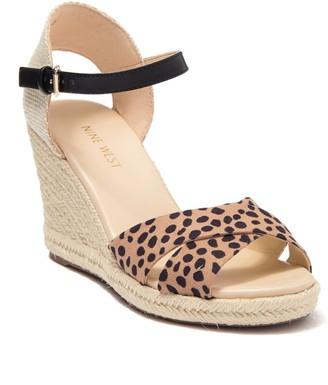 Nine West Joydyn Espadrille Wedge Sandal
