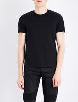 Belstaff Arm badge cotton-jersey T-shirt