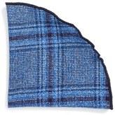 Alexander Olch Men's 'The Glenn' Plaid Wool Pocket Round