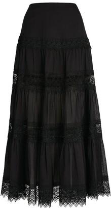 Charo Ruiz Ibiza Lace Ruth Maxi Skirt