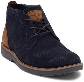 Nunn Bush Barklay Leather Plain Toe Chukka Boot