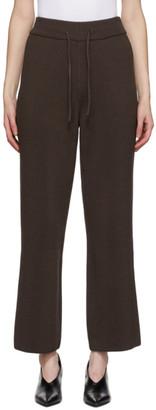 LE 17 SEPTEMBRE LE17SEPTEMBRE Brown Knit Lounge Pants