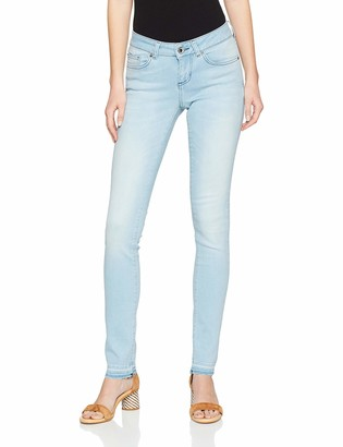 Seven7 Women's Mira Skinny Jeans Blue (Sole Nv 001) 18 (Manufacturer size: 31/32)