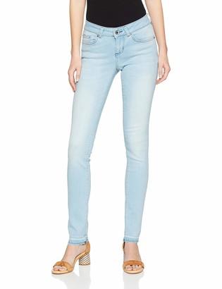 Seven7 Women's Mira Skinny Jeans Blue (Sole Nv 001) 8 (Manufacturer size: 26/32)