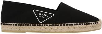 Prada Logo Printed Espadrilles