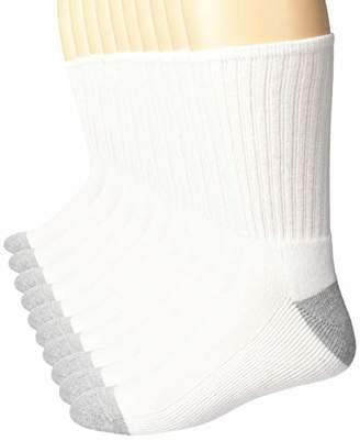 Amazon Essentials Men's 10-Pack Cotton Half Cushioned Crew Socks