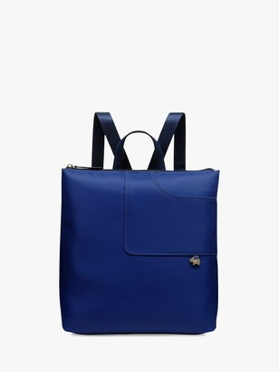Radley Pocket Essentials Large Zip Top Backpack, Sapphire