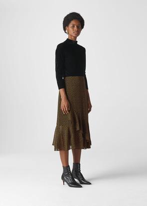 Confetti Heart Frill Skirt