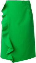 MSGM ruffled skirt - women - Polyester/Spandex/Elastane/Viscose - 42