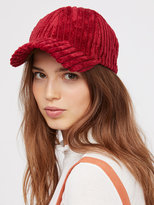 Free People Sugar Hill Corduroy Baseball Hat