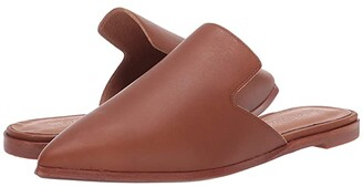 Madewell Gemma Mule in Leather (English Saddle) Women's Shoes
