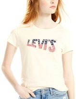 Levi's Women's Stars and Stripes Logo Tee