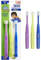 Baby Buddy 360 Toothbrush Step 2 Stage 6 for Ages 2-12 Years