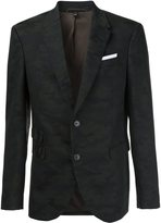 Neil Barrett patterned camouflage blazer