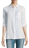 Rails Charli Striped Linen Shirt