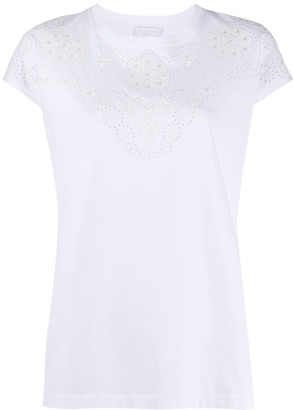 Escada Sport embroidered-details T-shirt