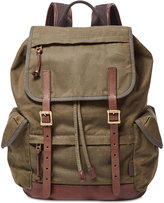 Fossil Men's Defender Canvas Rucksack
