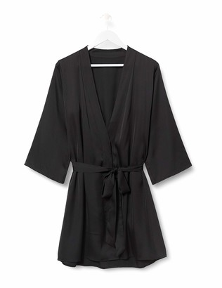Iris & Lilly Women's Kimono Cotton Dressing Gown