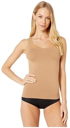 Hanro Touch Feeling Tank Top (Caramel) Women's Clothing