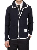 Thom Browne Cotton Terry Cardigan