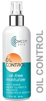 Oil Control - Oily Skin & Acne Moisturizer, Mattifying Oil-Free Moisturizer Prevents Breakouts & Clarifies with Salicylic Acid & Natural Botanicals - by Concept Skin