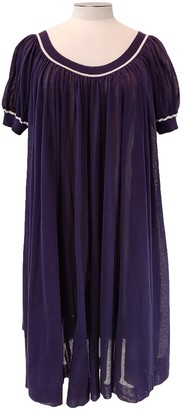 Hermes Navy Cotton - elasthane Dresses