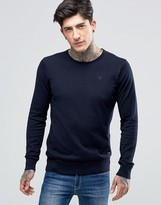 Scotch & Soda Sweater With Crew Neck Cotton In Navy Night