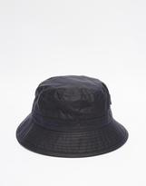Barbour Wax Sports Bucket Hat - Blue