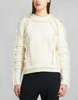 Belstaff Karli Crew Neck Sweater Ivory