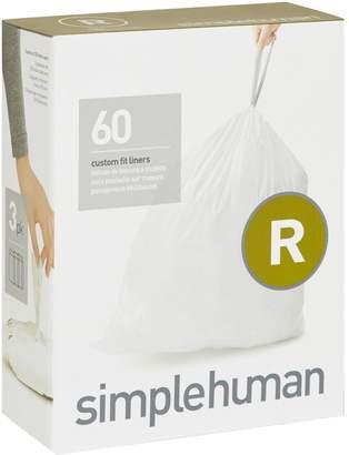 Simplehuman Code R Bin Liners (60 Liners)