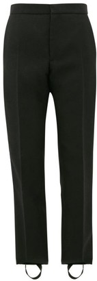 Wardrobe NYC Release 05 Stirrup Wool Trousers - Black