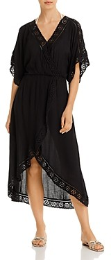 Surf.Gypsy Eyelet Maxi Dress Swim Cover-Up