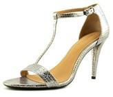 Calvin Klein Nasi Open Toe Leather Sandals.
