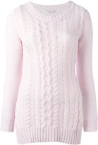 Agnona cashmere cable knit jumper - women - Cashmere - 38