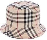 Burberry Reversible Nova Check Bucket Hat