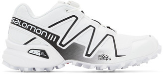 Salomon White Speedcross 3 Advanced Sneakers