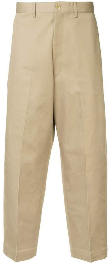 N. Hoolywood tapered-leg trousers