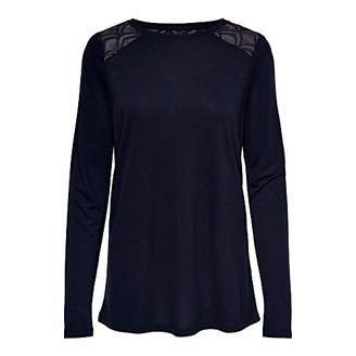 Only Women's ONLNICOLE L/S TOP JRS Longsleeve T - Shirt,12 (Size: M)