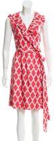 Kate Spade Silk Wrap Dress