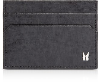 Moreschi Printed Leather Men's Credit and Business Card Holder
