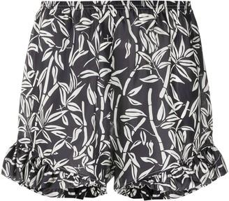 Roseanna Bamboo Print Shorts