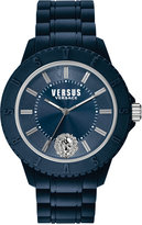Versus By Versace Unisex Tokyo Blue Silicone Strap Watch 42mm SOY050015