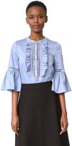 Temperley London Morganne Cotton Shirt