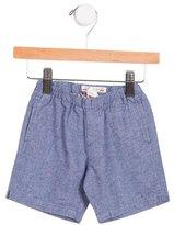 Bonpoint Girls' Elasticized Mid-Rise Shorts