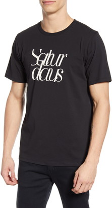 Saturdays NYC Logo Script T-Shirt